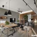 mẫu căn hộ chung cư rộng thoáng với các không gian mở