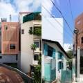 Mẫu nhà phố đẹp 4 tầng với mặt tiền gạch đỏ nổi bật