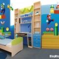 Không gian phòng ngủ ấm cúng siêu cute cho bé trai